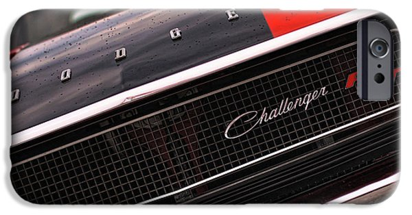 Death Proof iPhone Cases - 1970 Dodge Challenger RT iPhone Case by Gordon Dean II