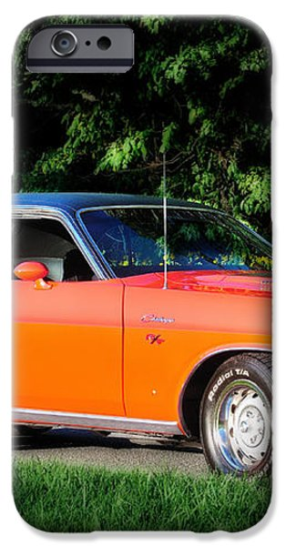 1970 Dodge Challenger RT  iPhone Case by Thomas Schoeller