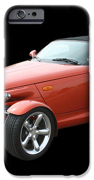 2002 Plymouth Prowler iPhone Case by Jack Pumphrey