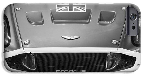 2005 iPhone Cases - 2005 Aston Martin DBR9 iPhone Case by Jill Reger