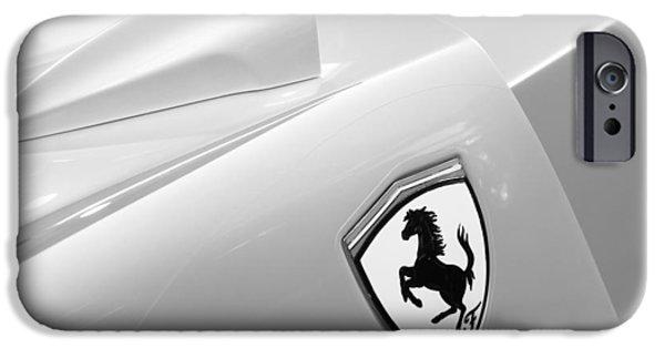 2005 iPhone Cases - 2005 Ferrari FXX Evoluzione Emblem iPhone Case by Jill Reger