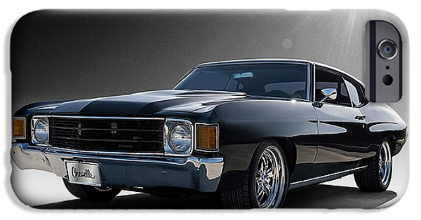 Cars iPhone Cases - 72 Chevelle iPhone Case by Douglas Pittman