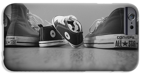Sneaker iPhone Cases - A Converse Family iPhone Case by Mountain Dreams