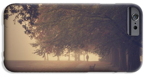 Fletcher iPhone Cases - A misty morning iPhone Case by Chris Fletcher