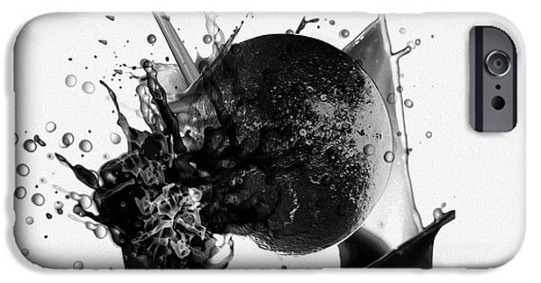 Most Sold iPhone Cases - A World Within My Paint Pot ...---.... iPhone Case by Sir Josef  Putsche Social Critic
