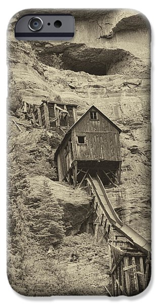 Abandoned Mine iPhone Case by Melany Sarafis