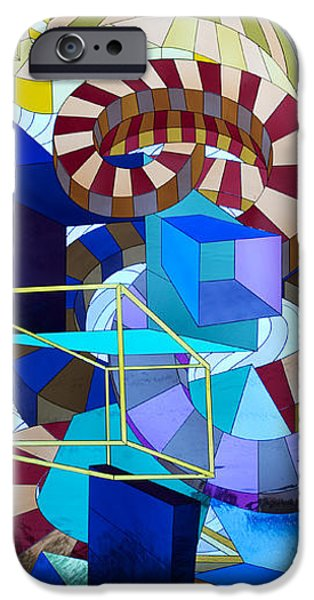 Vivid Glass iPhone Cases - Abstract Art Stained Glass iPhone Case by Mountain Dreams