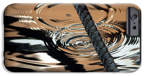 Design iPhone Cases - Abstract Water Reflection 59 iPhone Case by Andrew Hewett