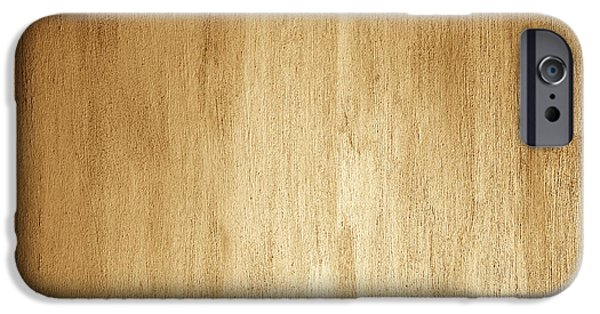 Board iPhone Cases - Abstract wooden background iPhone Case by Anna Omelchenko
