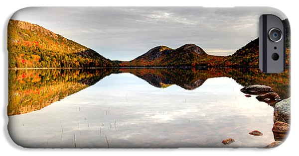 Fall iPhone Cases - Acadia National Park iPhone Case by Denis Tangney Jr