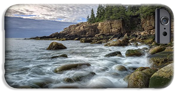 Maine iPhone Cases - Acadia iPhone Case by Rick Berk