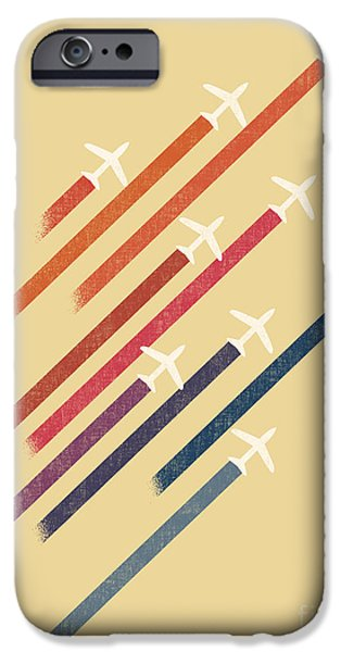 Aero iPhone Cases - Aerial Display iPhone Case by Budi Kwan