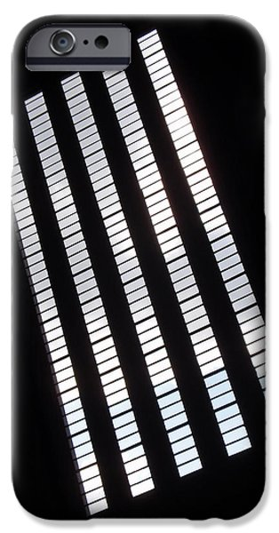 Windows iPhone Cases - After Rodchenko iPhone Case by Rona Black