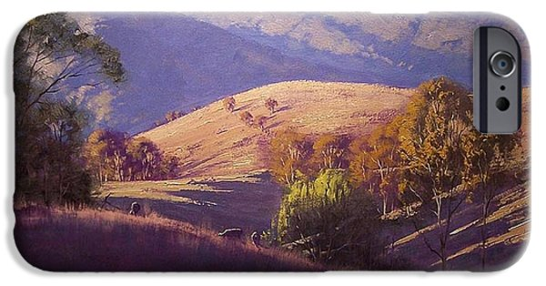 Rural iPhone Cases - Afternoon Shadows iPhone Case by Graham Gercken