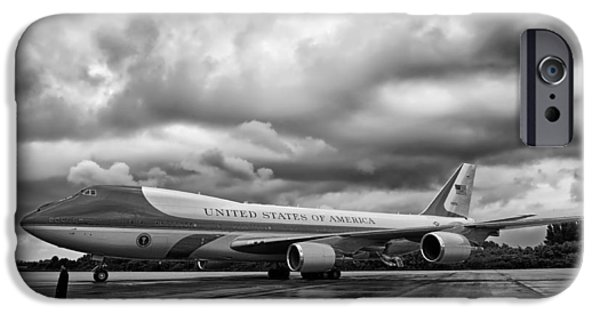 Air Force One iPhone Cases - Air Force One iPhone Case by Mountain Dreams
