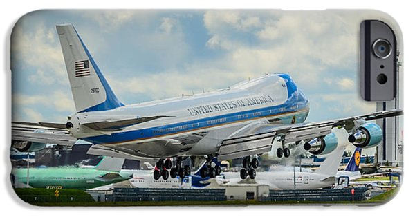 President Obama iPhone Cases - Air Force One iPhone Case by Puget  Exposure