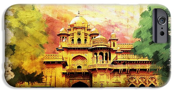 Pakistan iPhone Cases - Aitchison College iPhone Case by Catf