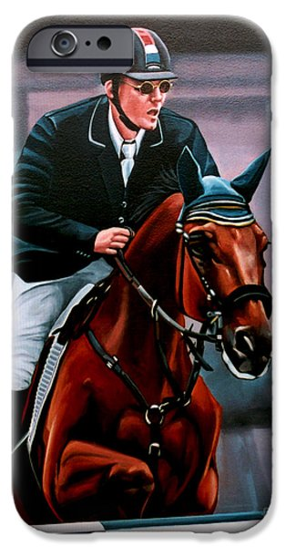 Equestrian iPhone Cases - Albert Zoer and Sam iPhone Case by Paul  Meijering