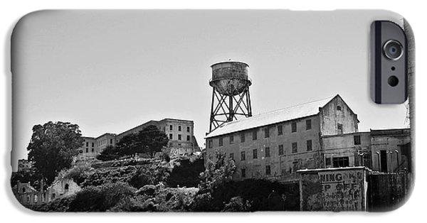 Alcatraz iPhone Cases - Alcatraz iPhone Case by Dan Radi