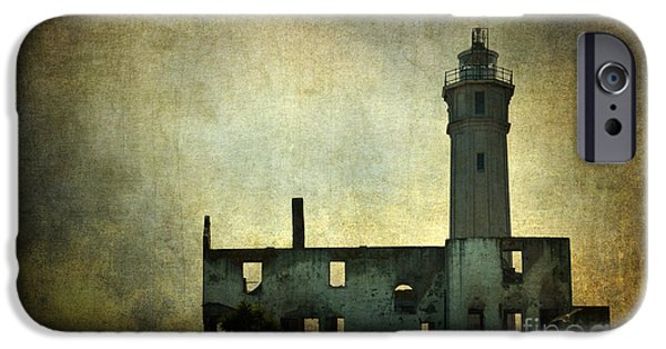 Alcatraz iPhone Cases - Alcatraz Island Lighthouse iPhone Case by RicardMN Photography