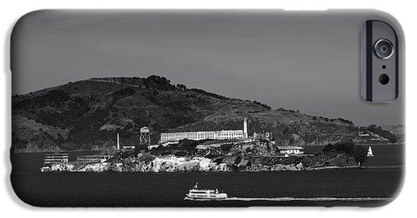 Alcatraz Photographs iPhone Cases - Alcatraz Island iPhone Case by Mountain Dreams