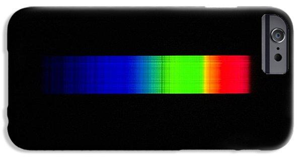 Absorb iPhone Cases - Aldebaran Emission Spectrum iPhone Case by Dr Juerg Alean