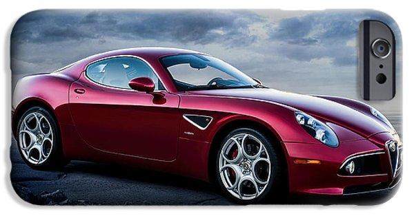 Luxury iPhone Cases - Alfa Romeo 8C iPhone Case by Douglas Pittman
