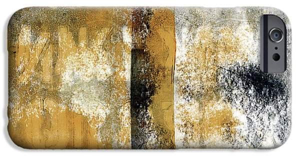 Vivid Mixed Media iPhone Cases - Alphabetical Order iPhone Case by Carol Leigh