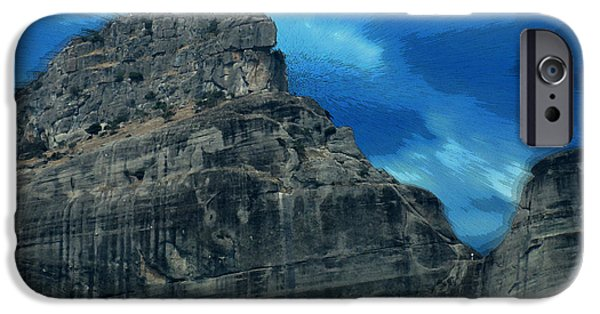Stripes iPhone Cases - Amazing Landscape iPhone Case by Augusta Stylianou