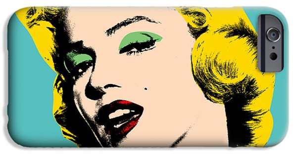Warhol iPhone Cases - Andy Warhol iPhone Case by Mark Ashkenazi