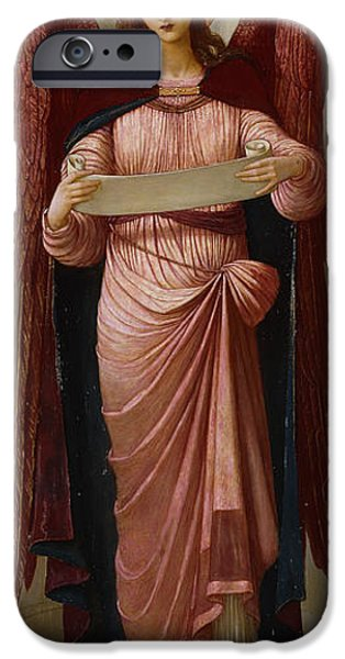 Angels iPhone Case by John Melhuish Strudwick