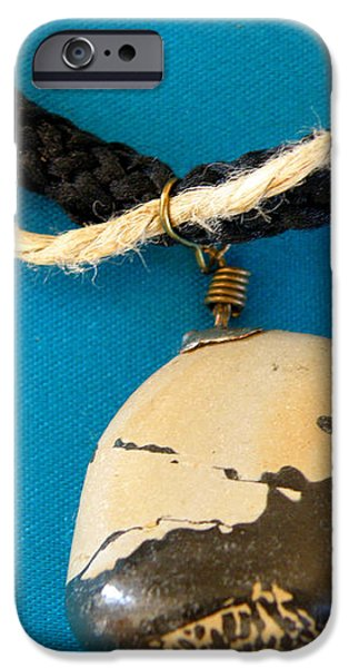 Aphrodite Melainis Necklace iPhone Case by Augusta Stylianou