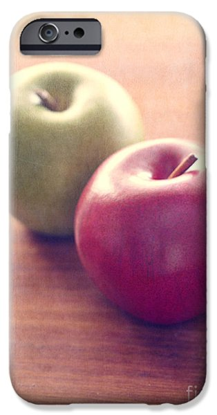 Juice iPhone Cases - Apples iPhone Case by Edward Fielding