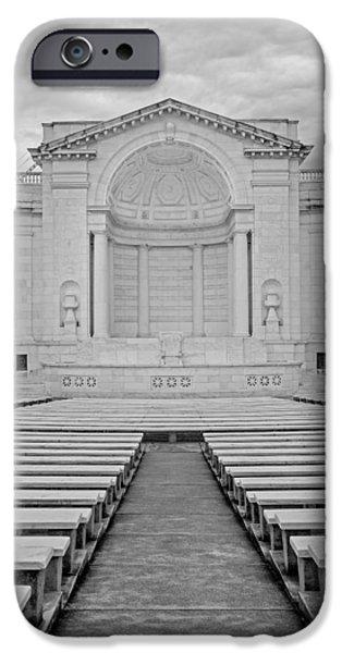 D.c. iPhone Cases - Arlington Amphitheater iPhone Case by Susan Candelario