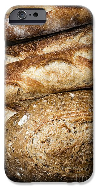 Bread iPhone Cases - Artisan bread iPhone Case by Elena Elisseeva