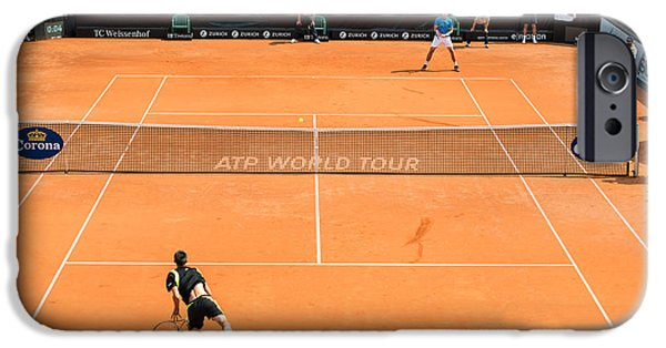 Atp World Tour iPhone Cases - ATP Qualification in Stuttgart - Germany iPhone Case by Frank Gaertner