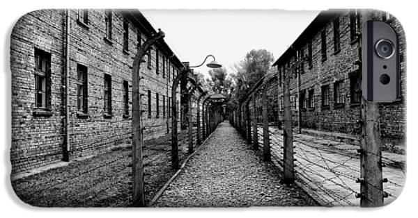 Infamous iPhone Cases - Auschwitz iPhone Case by Mountain Dreams