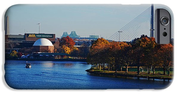 Boston Ma iPhone Cases - Autumn in Boston iPhone Case by Toby McGuire