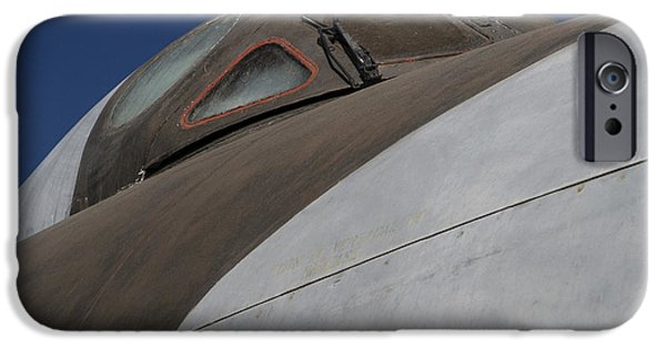 Cockpit Photographs iPhone Cases - Avro Vulcan B.Mk 2 Bomber iPhone Case by Carol Leigh