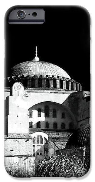 Aya Sofya iPhone Case by John Rizzuto