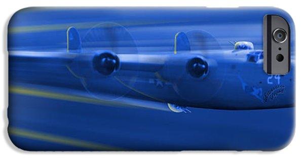 Warbird iPhone Cases - B-24 Liberator Legend iPhone Case by Mike McGlothlen