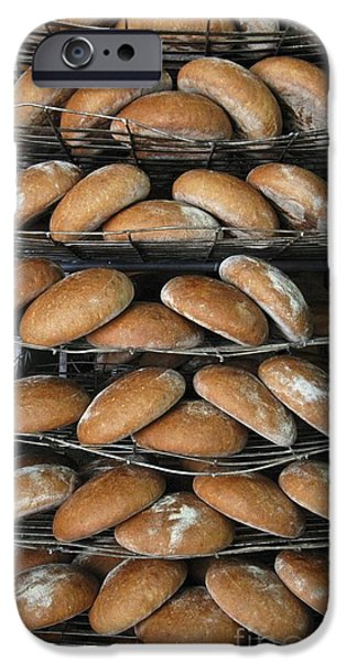 Loaf Of Bread iPhone Cases - Baking Bread iPhone Case by RIA Novosti