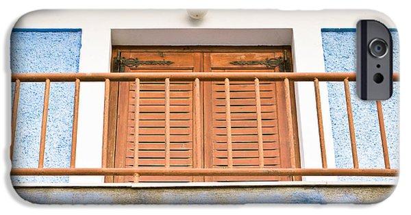 Balcony iPhone Cases - Balcony iPhone Case by Tom Gowanlock