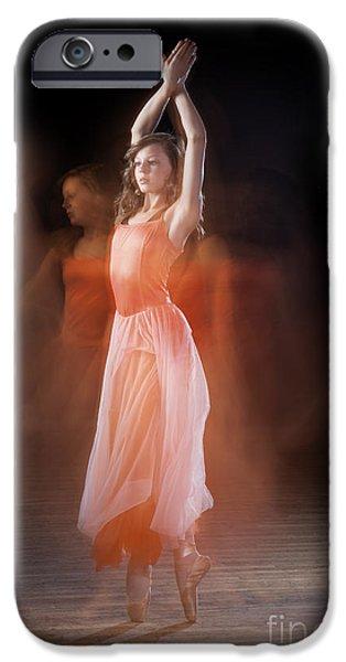 Ballet Dancers iPhone Cases - Ballerina iPhone Case by Cindy Singleton