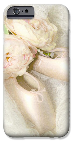 BALLET SHOES iPhone Case by Theresa Tahara