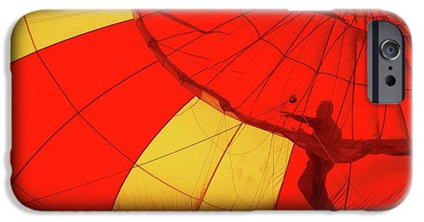 Hot Air Balloon iPhone Cases - Balloon Fantasy 2 iPhone Case by Allen Beatty