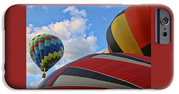 Freedom iPhone Cases - Balloon Fantasy 21 iPhone Case by Allen Beatty