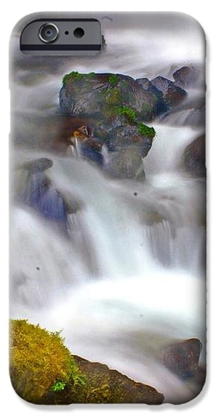 Base of the Falls iPhone Case by Marty Koch