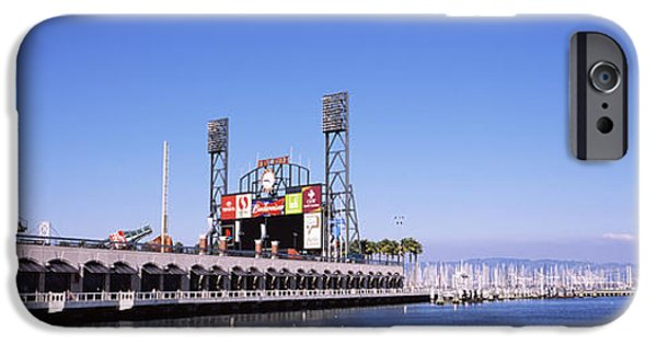 Baseball Stadiums iPhone Cases - Baseball Park At The Waterfront, At&t iPhone Case by Panoramic Images