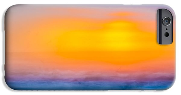 Bathing iPhone Cases - Bathing Corp Sunrise 6 iPhone Case by Ryan Moore
